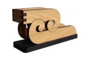 Koru Design Wood Business Card Holder