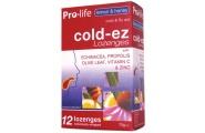 cold ez lozenges lemon and honey