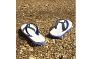jandals canvas photo print