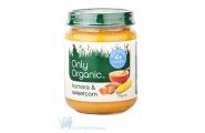 only organic kumara & sweetcorn baby savoury