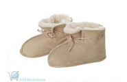 sheepskin baby's booties