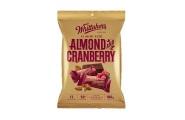 almond and cranberry dark chocolate mini slabs