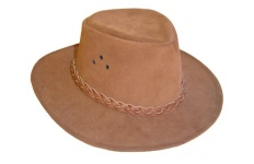 Suede Stockman Hat