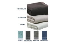 Thermacell Wool Blanket - Single - Satin Trim