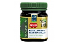 Manuka Health MGO 250+ Manuka Honey & Green Tea Extract- 250g