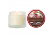 pomegranate and sage spa candle